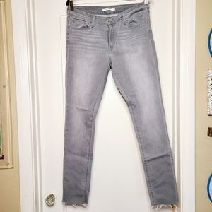 Levi's 711 Stretch Skinny Jeans High Rise size 32